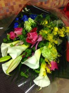 講演会お花